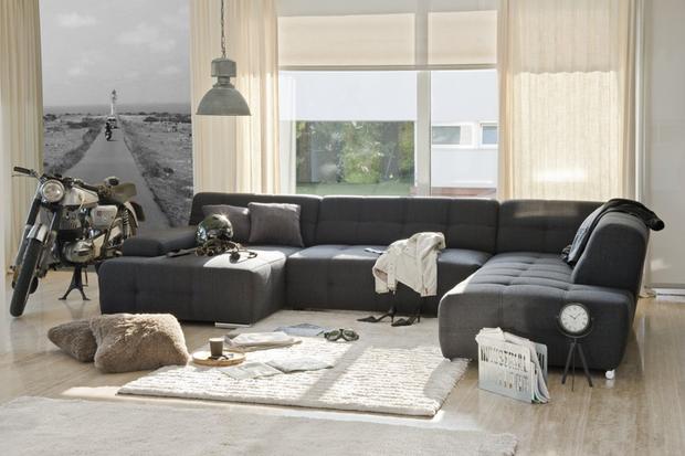 Claves para elegir el sofá perfecto: rinconera Boogie, de Conforama