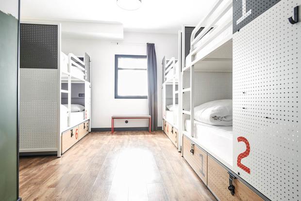 Habitación del Generator Madrid