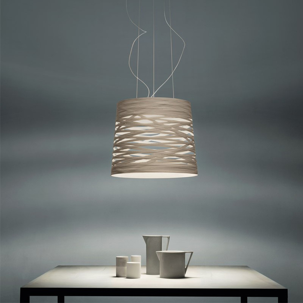 Lámpara de diseño Tress Mini de Foscarini