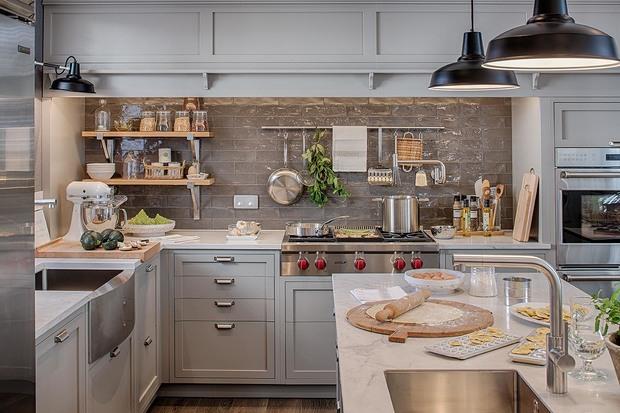 Cocina proyectada por Deulonder en Casa Decor 2019