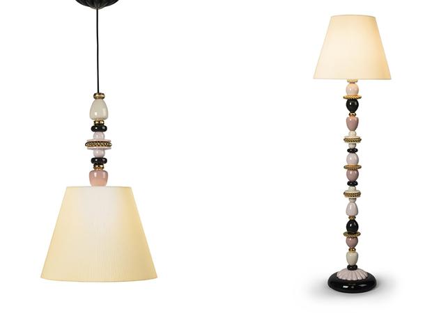 Lámparas inalámbricas Firefly de Lladró