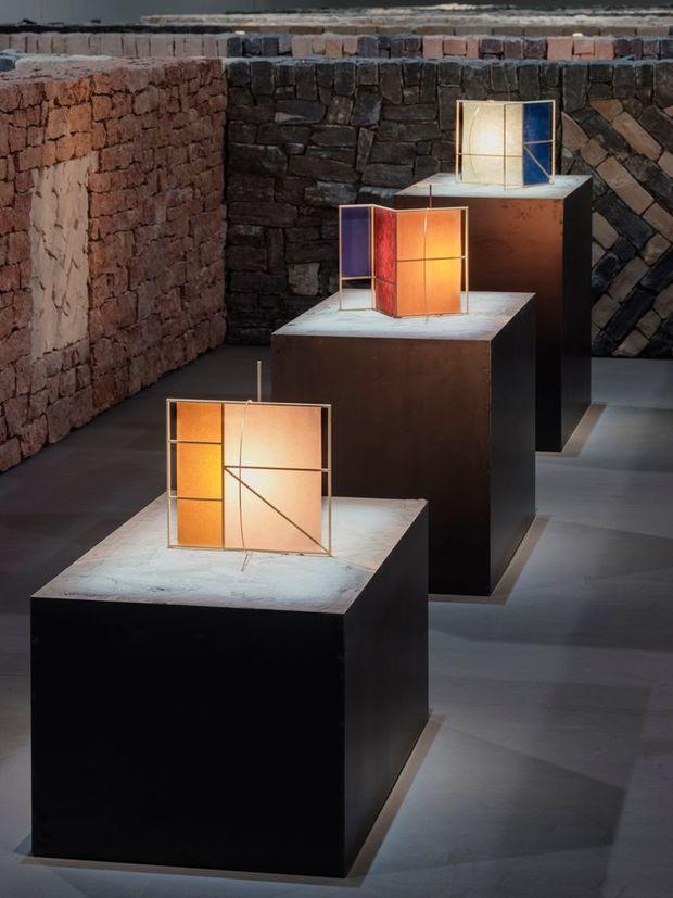 Lámparas diseñadas por Tomás Alonso para Hermès Maison