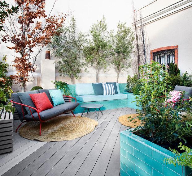 Terraza diseñada por Pia Paisajismo