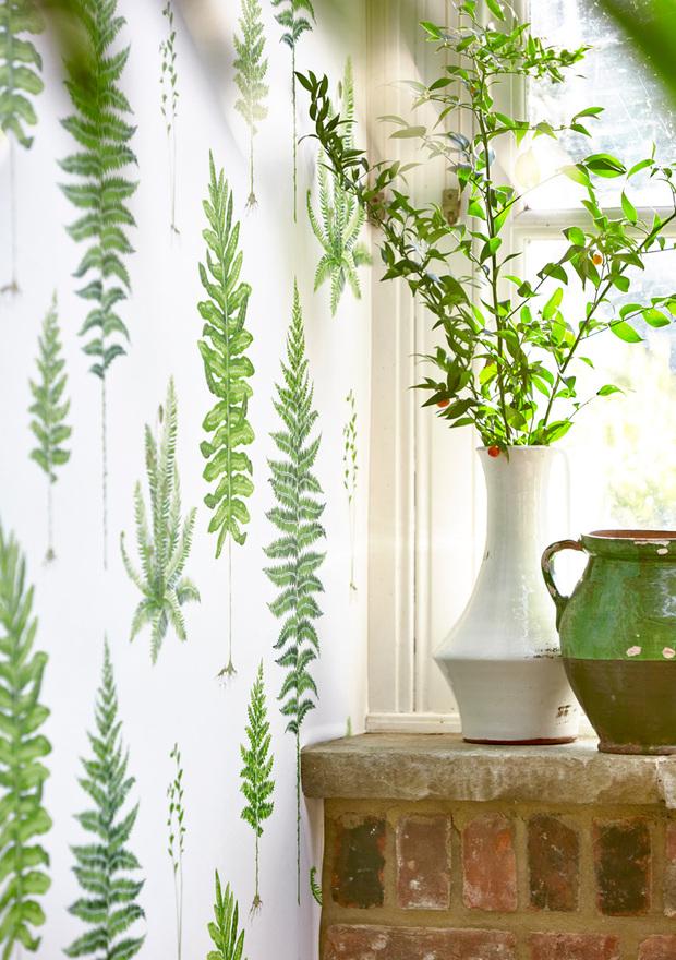 Papeles pintados para dar un toque exótico a la decoración