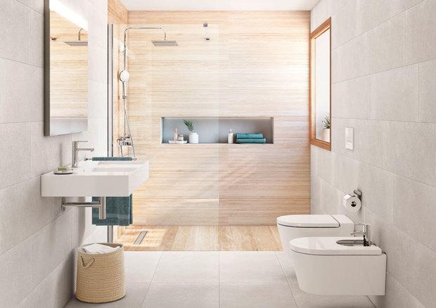 Cerámica en el baño