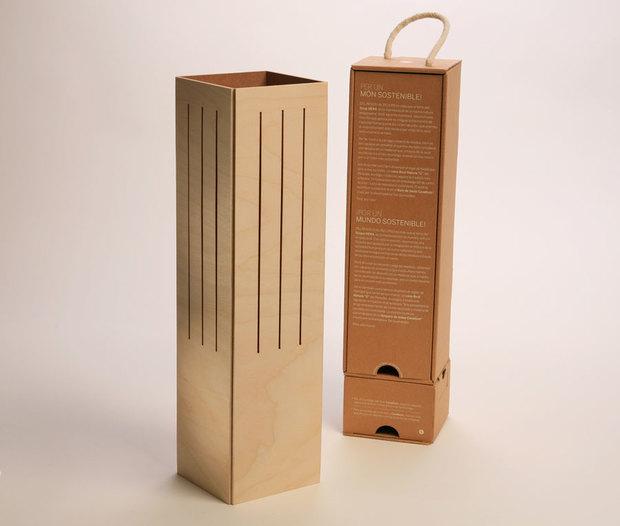 Cavallum: de caja de vino a lámpara
