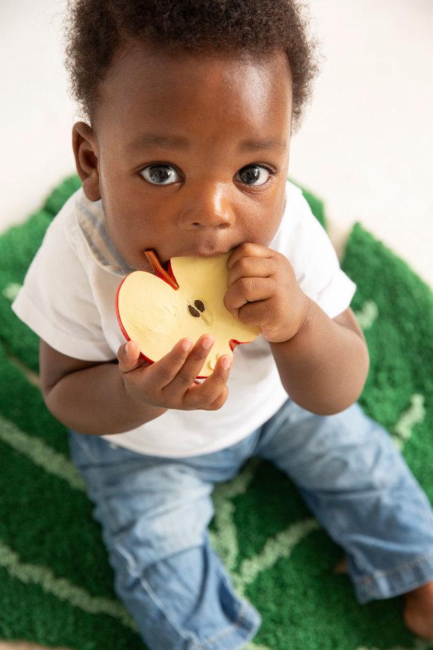 Mordedor con forma de manzana