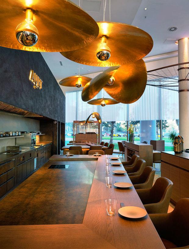 AÜRT, el restaurante de Hilton Diagonal Mar