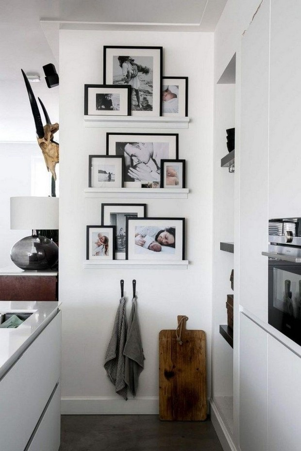 Ideas para decorar la pared con cuadros y fotos