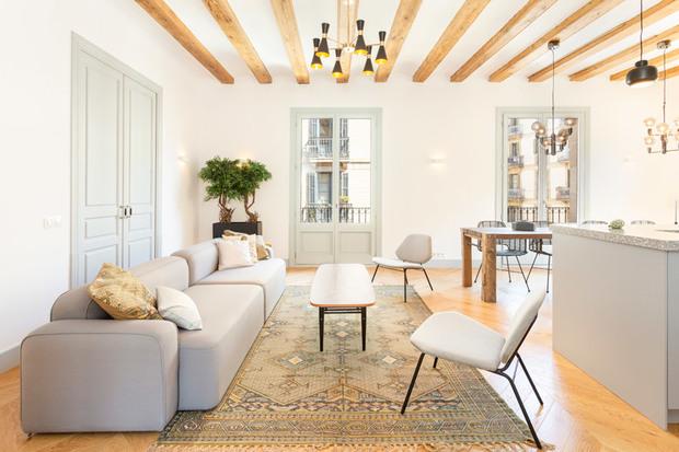 Reforma de un piso antiguo en Barcelona