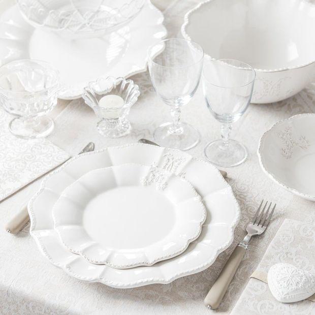 Vajillas para una mesa romántica