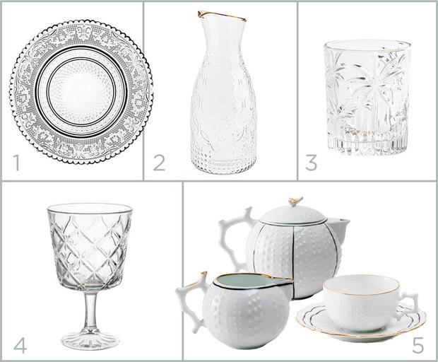 Shopping: vajillas para mesas románticas