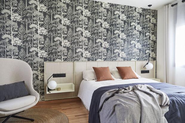 Dormitorio principal de una vivienda familiar
