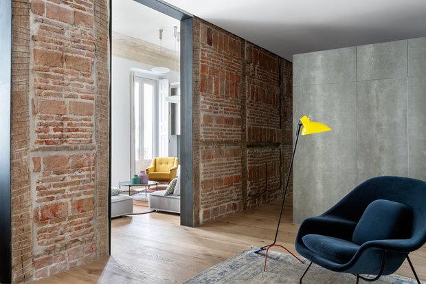 Reforma de un piso señorial en Madrid