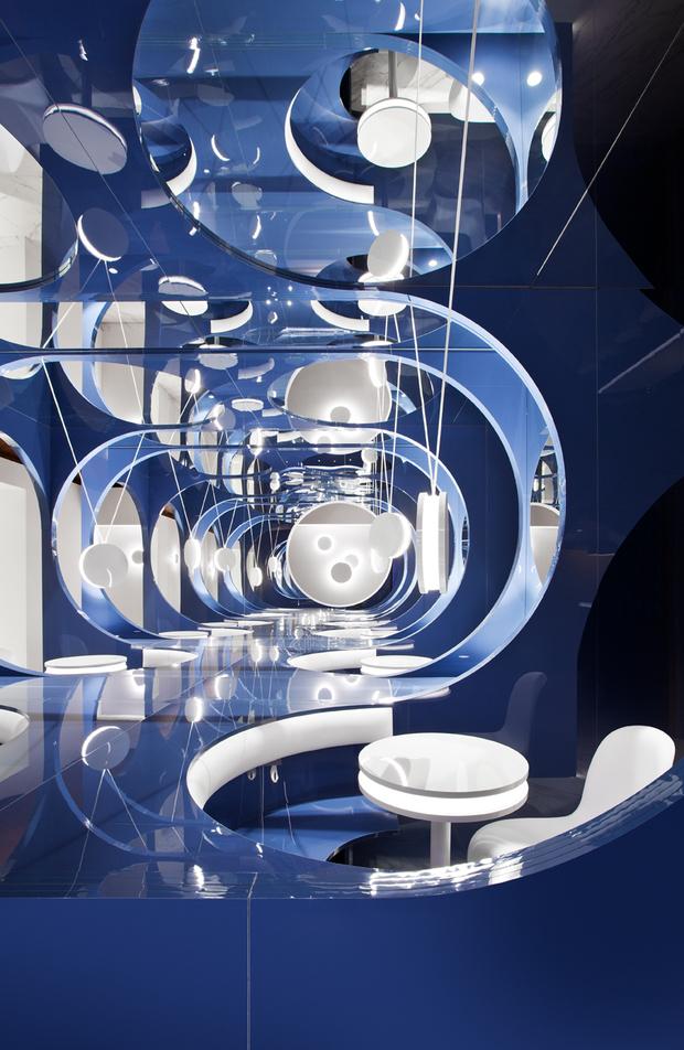 Espacio Alvic por Héctor Ruiz-Velázquez en Casa Decor 2020