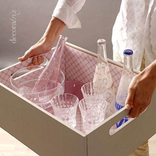 Reciclar una caja de frutas - Caja fruta decoracion ...