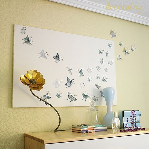 mariposas-en-la-pared