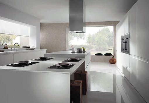 Muebles de cocina sin tiradores - Cocinas sin tiradores ...