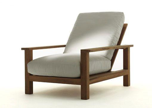 Muebles de exterior en madera de teca