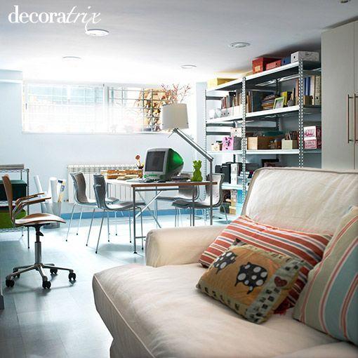 Reformar el s tano para ganar un espacio multifuncional - Sotanos decorados ...