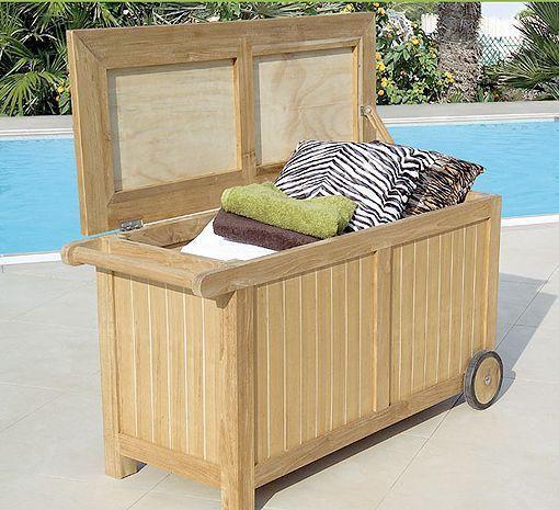 Muebles de teca para el jardín