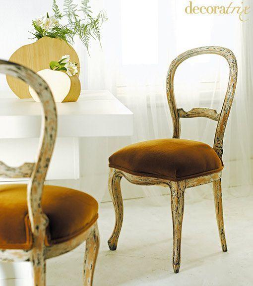 Ideas en un trix: recuperar sillas antiguas