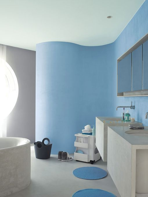 Pintar una pared especial - Pintura gris pared ...