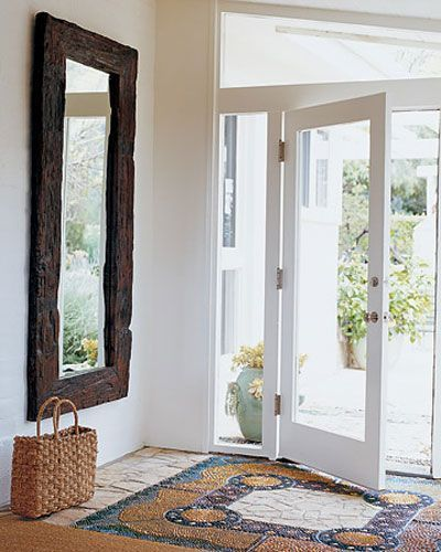 Iluminar el recibidor con puerta y tabiques de cristal - Puertas de entrada con cristal ...