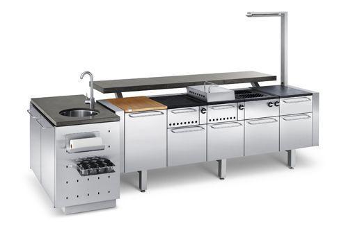 Cocina para exterior modular - Cocina de fuego ...