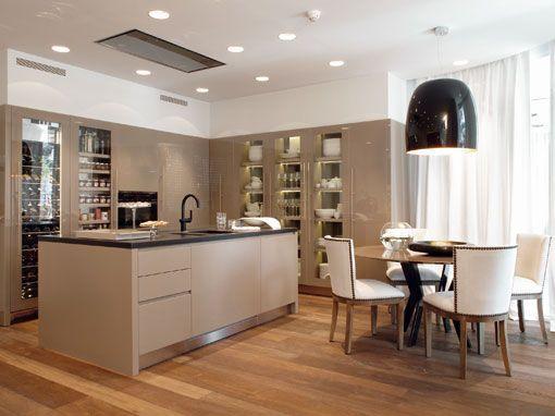 Salón, comedor y cocina en un mismo espacio