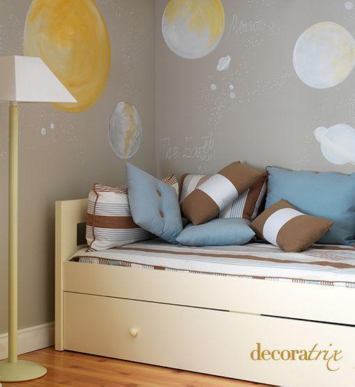 Camas infantiles que ahorran espacio - Habitacion infantil cama nido ...