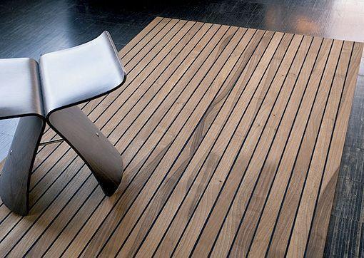 alfombras de madera para interiores