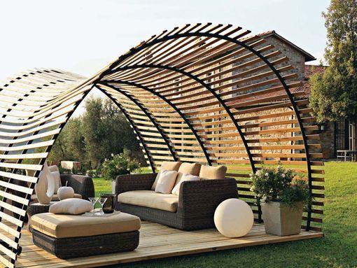 Toldos y cubiertas para porches y terrazas