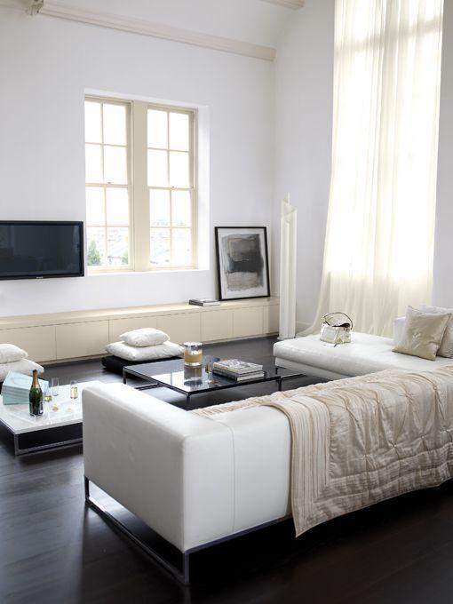 Decorar Con Muebles Blancos - Decoracion-muebles-blanco