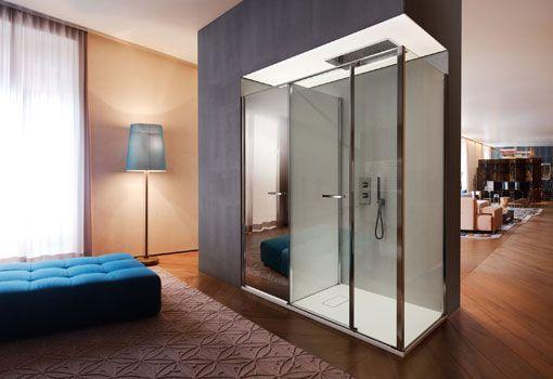 Cabina de ducha doble