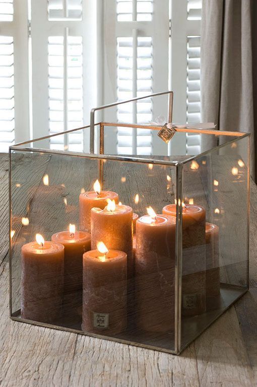 Ideas F 225 Ciles Para Decorar Con Velas