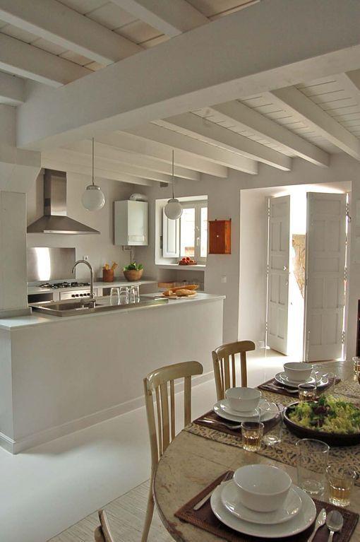 Casa de pueblo de estilo rstico actualizado