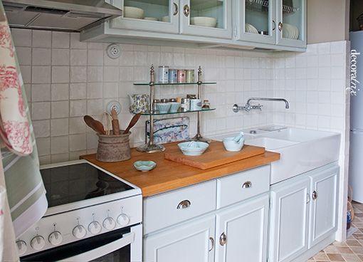 Una cocina rústica y chic