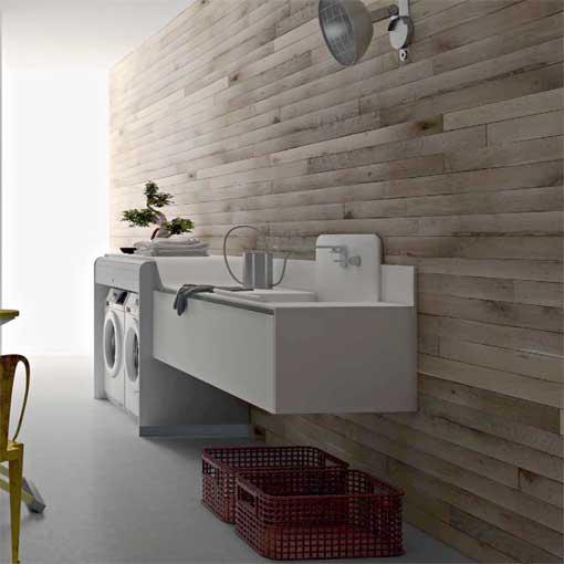 Cuartos de lavado y plancha de diseño