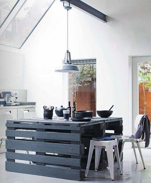 Muebles Hechos Con Madera Reciclada - Muebles-de-cocina-reciclados