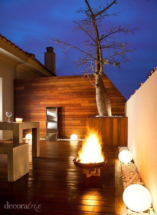 Una terraza para despedir el invierno - Ideas para decorar terraza atico ...