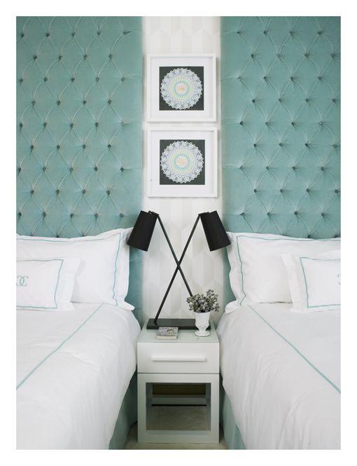 Cabeceros tapizados en el dormitorio - Cabeceros tapizados vintage ...