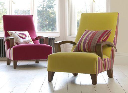 Renovar sillones antiguos con tapiceras modernas