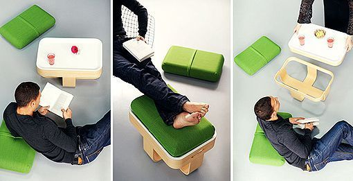 "Multifunctional ""Mister T"" by Antoine Lesur"