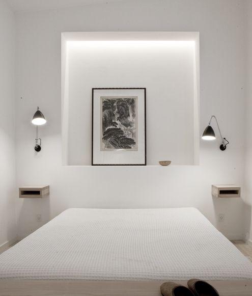 Ideas para dormitorios peque os for Mesillas de habitacion