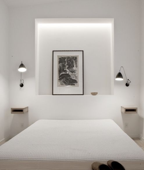 Ideas para dormitorios peque os - Interruptores clasicos ...