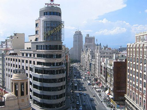 Pasear por Madrid