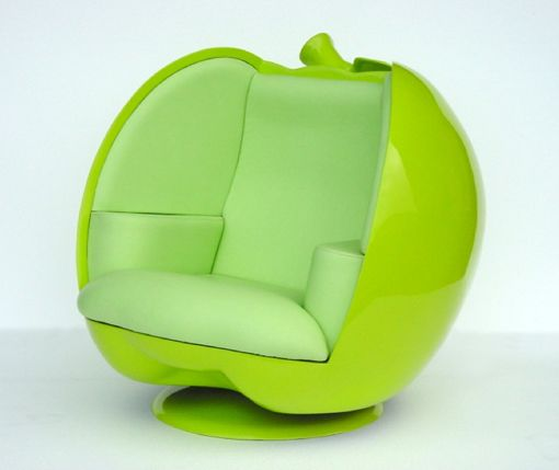 sillon-verde-manzana-pop-art-decoracion