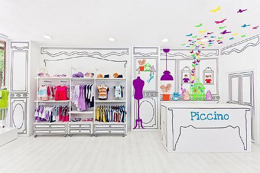 1817c13542 Una tienda de ropa infantil que parece sacada de un cuento