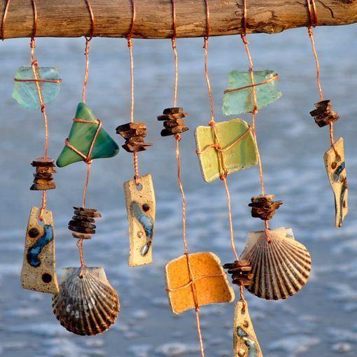 Móviles Sonoros De Conchas Marinas